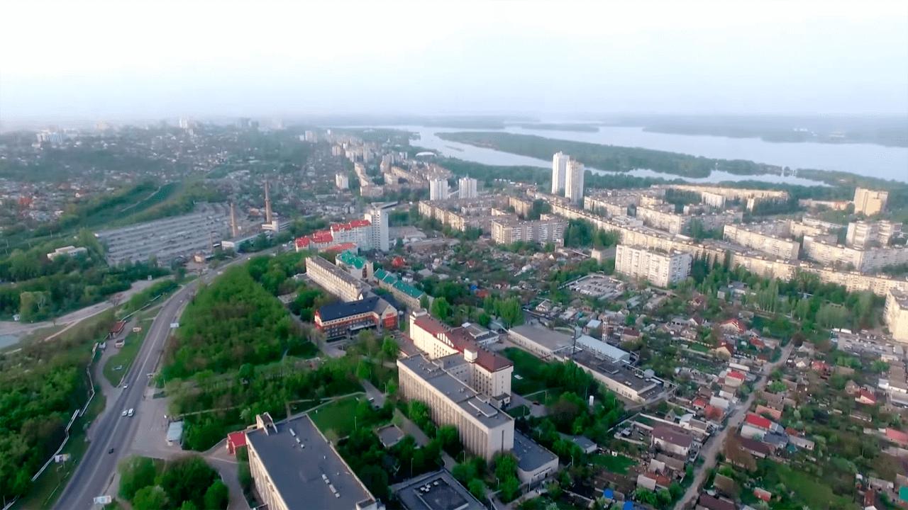 Жилой массив Сокол, Днепр. Как выглядит Сокол (Правый берег) с высоты