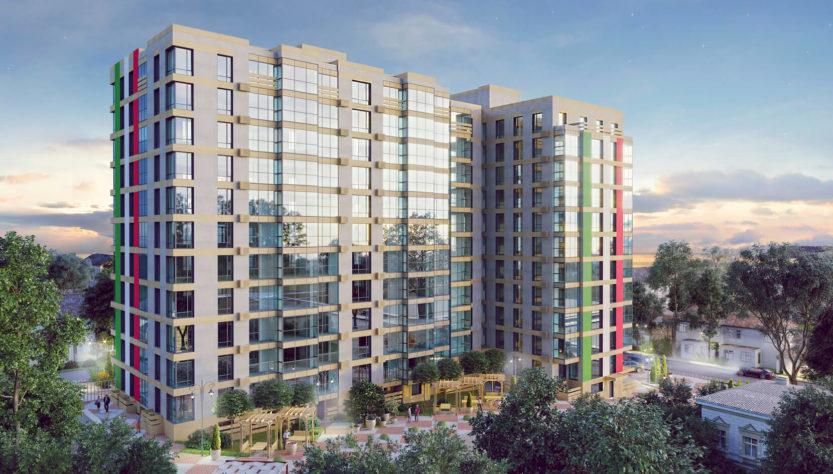 Жилой комплекс Palermo, Днепр. Как выглядит ЖК Палермо с высоты