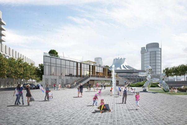 Проект реконструкции развлекательного комплекса Белый рояль