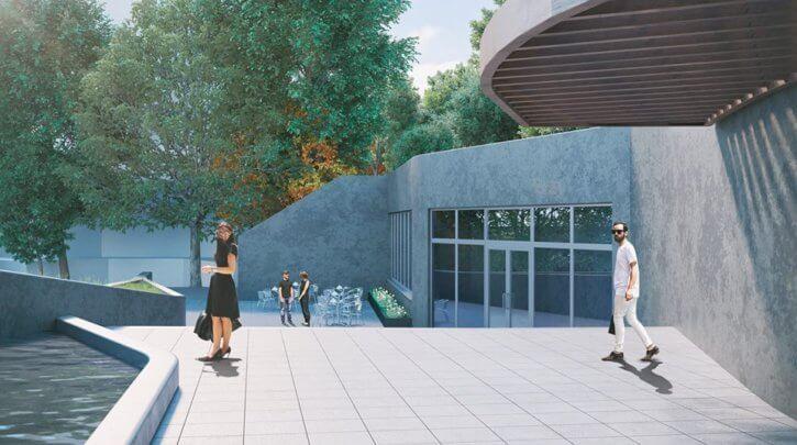 Реконструкция парка культуры и отдыха имени Т.Г. Шевченко