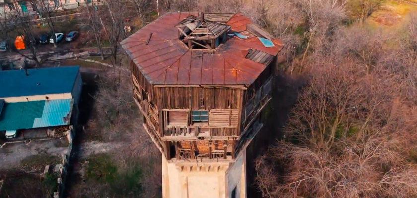 Заброшенная водонапорная башня, Днепр